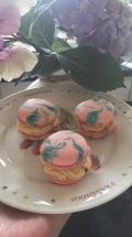 Macarons baileys side